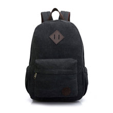 Hot Sale Canvas Men's Backpack To School Casual Travel Vintage Style Rucksack Shoulder Bags Laptop Multifunction Mochila XA364D