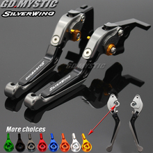 Motorcycle Folding Extendable CNC Moto Adjustable Clutch Brake Levers For Honda Silver Wing GT 400 600 2001-2017 GT400 GT600