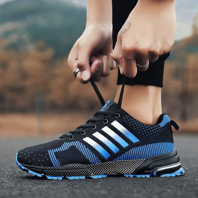2019 Hot Sale Men Shoes Men Casual Shoes Summer Unisex Lightweight Breathable Mesh Fashion Male Shoes Sneakers Plus Size 38-47