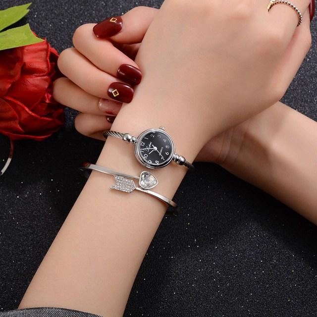 Lvpai Fashion Women Bracelet Watch Luxury Brand Stainless Steel Silver Ladies Wristwatch Female Clock Quartz Watch Gift Hours