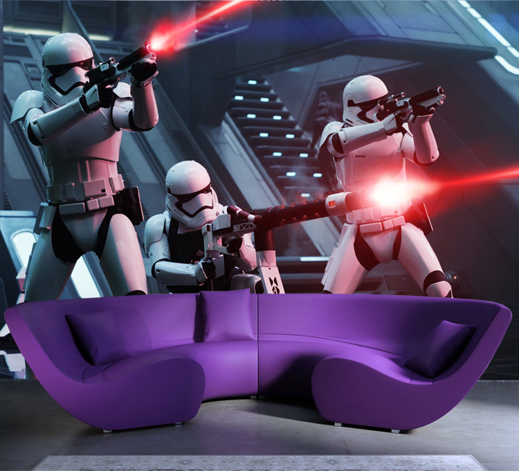Star Wars Photo Wallpaper Storm Troop Wallpaper Custom 3D Wall Murals Boys Kids Bedroom Living room Art Room decor Great Movies