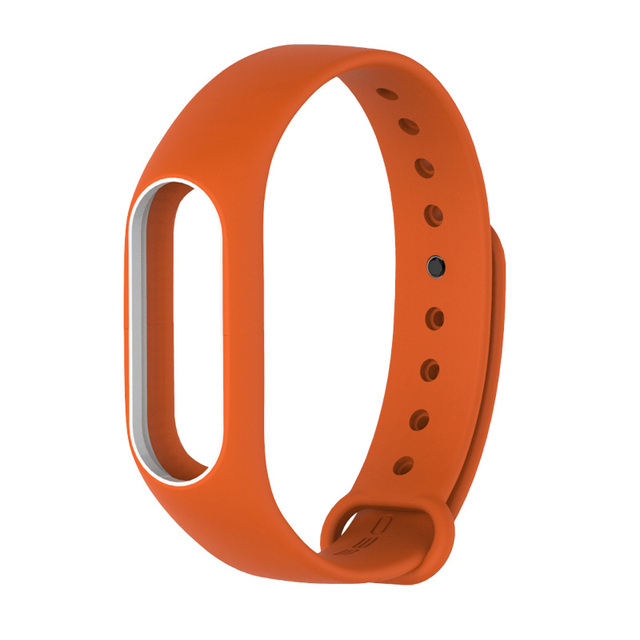 Smart watch M2 strap for Xiaomi Mi Band 2 Silicone Bracelet watchbands Miband 2 Wristband Replacement Sports rubber Accessories | Watchbands