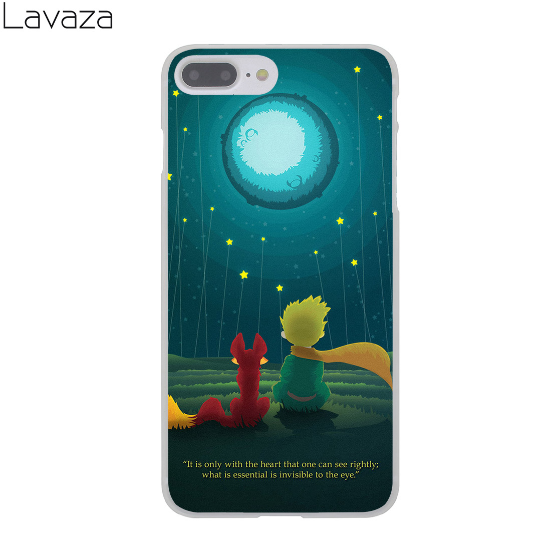 Lavaza Lovely the Little Prince fox On Mint Hard Case for Apple iPhone 8 7 Plus 6 6S Plus 5 5S SE 5C 4 4S Cover for iPhone X 10
