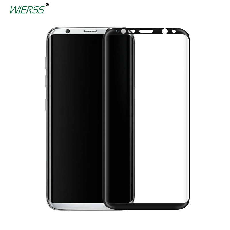 For Samsung Galaxy S8 plus S8+ 6.2″ 3D 9H Full Coverage tempered Glass Screen Protector For Samsung Galaxy S7 edge glass Film