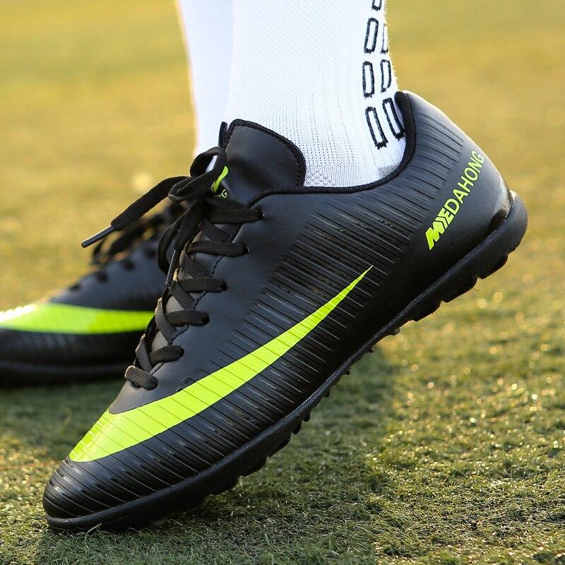 Zenvbnv interior Superfly transpirable Chuteira Futebol alta calidad  hombres baratos zapatos Superfly TF Original hombre botas 474cd446664a9