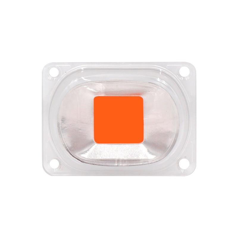 1set Full Spectrum COB LED Grow Light Lamp Chip+Lens Reflector 50W 30W 20W 110V 220V Grow Led Chip For DIY LED Growth Floodlight цены