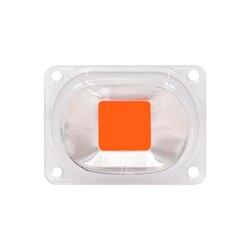 1set Volle Spektrum COB LED Wachsen Licht Lampe Chip + Objektiv Reflektor 50W 30W 20W 110V 220V Wachsen Led-Chip Für DIY LED Wachstum Flutlicht