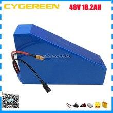 Литий-ионный аккумулятор 48 В 18.2AH треугольная батарея 48 В 18AH использование батареи 3,7 в 2600 мАч ячейка 30A BMS с бесплатной сумкой 2A зарядное устройство