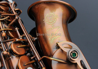 Copy France Henri Selmer Alto Saxophone Reference Surface 54 Red Bronze