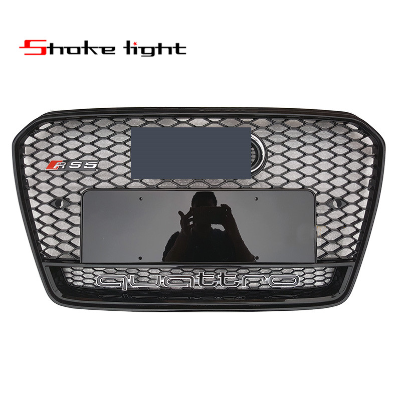 Refit For Audi A5 RS5 2012 2013 2014 2015 2016 New ABS Black Painted Front Honey Mesh Grille Sedan Coupe Convertible stadler form inner pot 5l чаша для мультиварки sfc 919