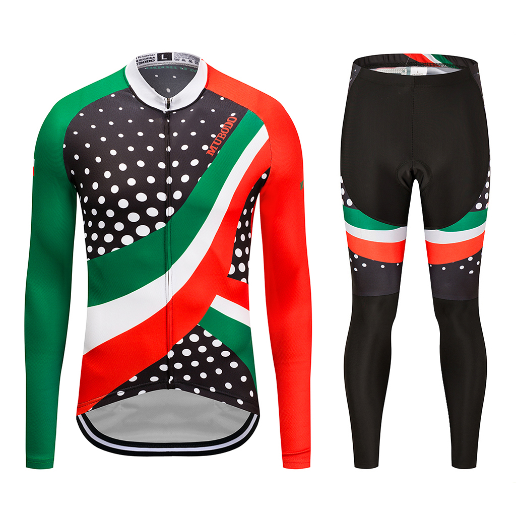 Cycling long sleeve sports suit outdoor sports shirt breathable sweat absorption