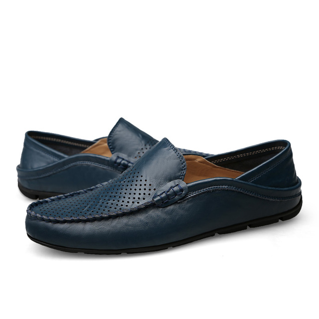 Casual men loafers spring and autumn mens moccasins shoes  4