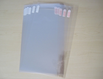 50pcs Ultra Clear Screen Protector Protective Film for Lenovo Yoga A12 12.2 inch No Retail Package 277.5x192mm