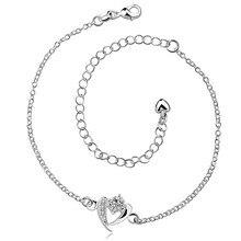 Горячий серебряный браслет с цирконом высокое качество простой дикий стиль классический шарм ювелирных изделий для женщин