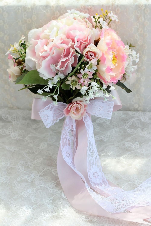 Online Get Cheap Daisy Bridal Bouquets Aliexpress