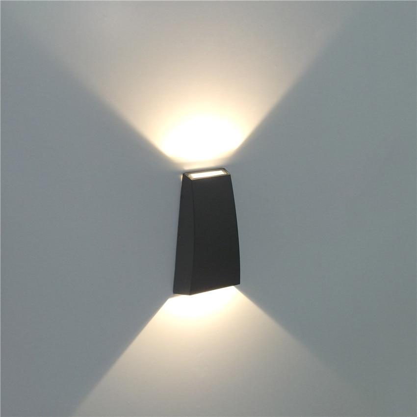 6W LED Wall Light Outdoor Wodoodporna IP65 Nowoczesny Nordic styl - Oświetlenie wewnętrzne