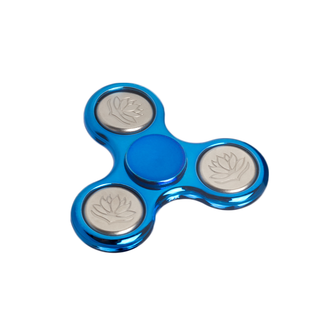 Novel Delicate Imported Bearing Great Stalibity Fidget Spinner Engraving Lotus Stress Relief Hand Spinner Amusing Spinner