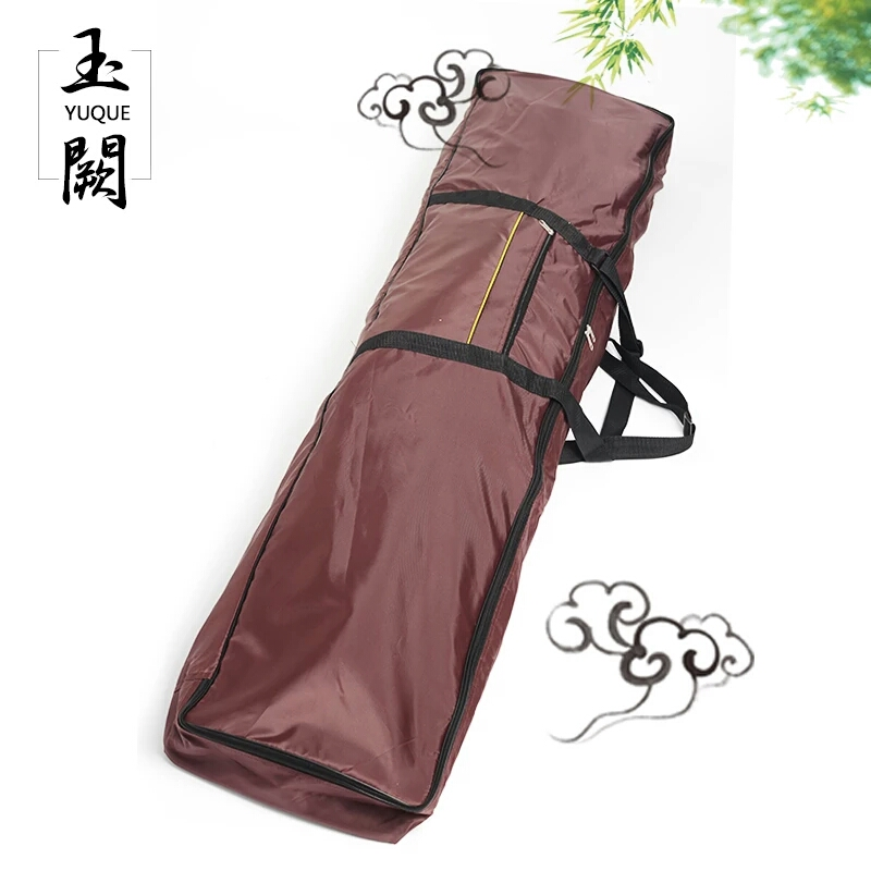 Yuque Guzheng Protective Carring Case / Portable Guzheng Bag / Case Cover For Guzheng Travel Bag Purple Color