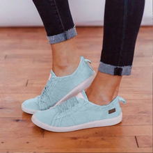 2019 Spring Autumn New Style Women Vulcanized Solid Shoes Sneakers Ladies Lace-u
