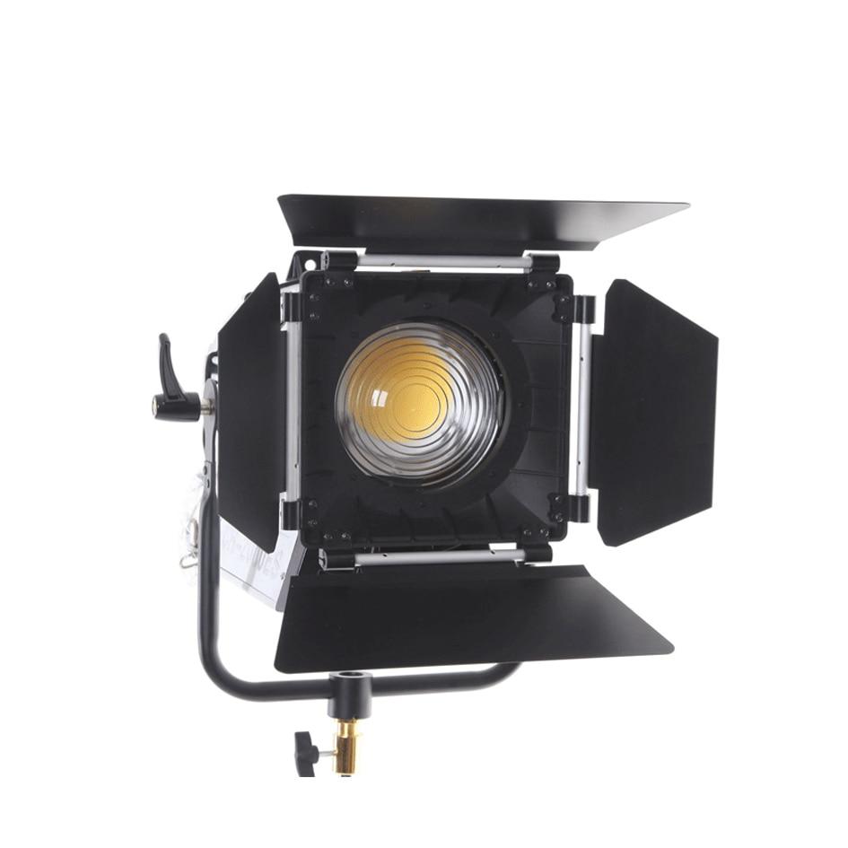 ALUMOTECH V lock 200W LED Fresnel Dimmable Bi color Wireless Remote Spotlight for Video Studio