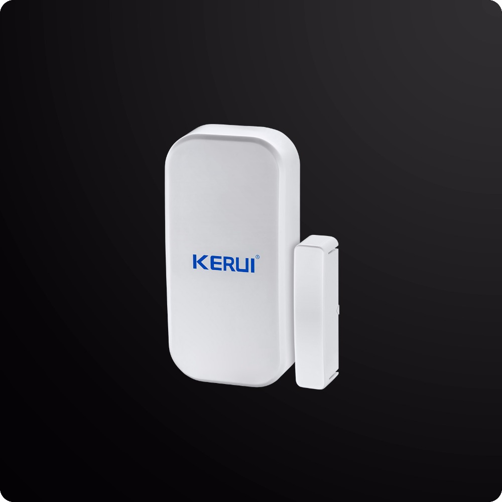 8218G White GSM PSTN Dual Net Home Security Alarm System LCD Touch Panel ISO Android App Control Security Alarm System 1