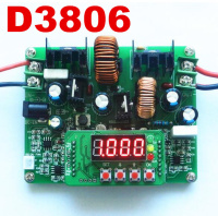 D3806 Adjustable Step Up Voltage Current CNC DC Regulated Constant Current Power Supply And Down Module