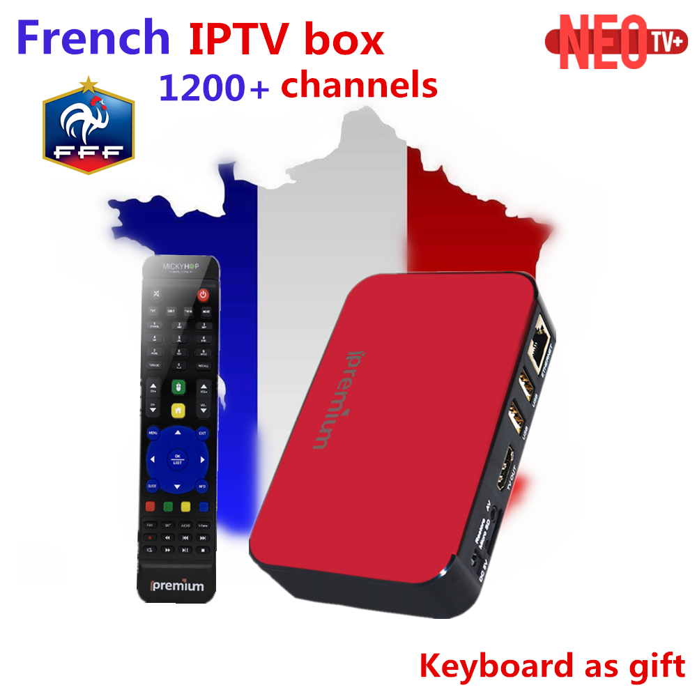 Best French IPTV Box AVOV TVonline Ipremium Mickyhop 2.0 tv box+1200 live IPTV Arabic French Belgium Morocco smart tv box цена
