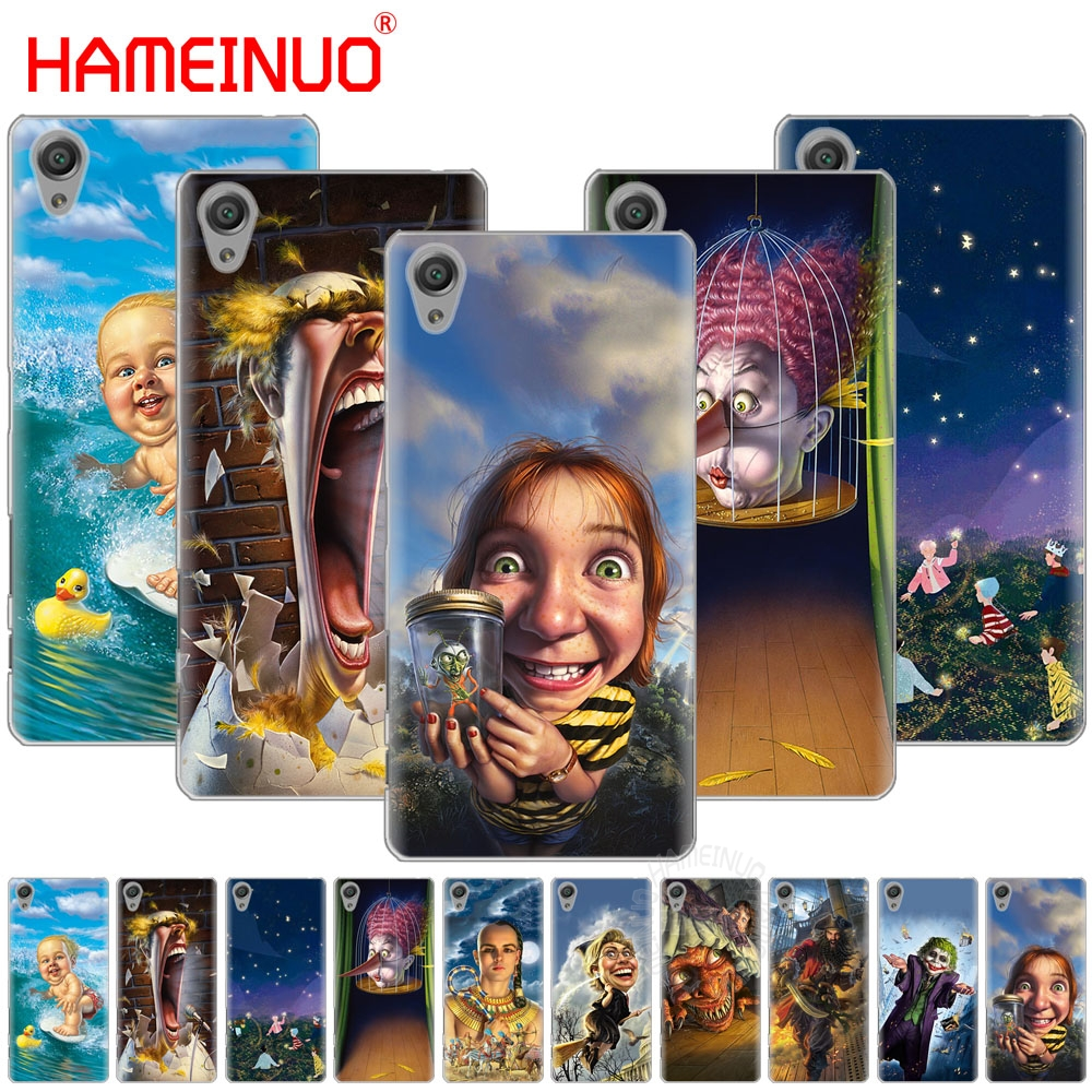 Phone Bags & Cases Hameinuo Mark Fredrickson Art Cover Phone Case For Sony Xperia C6 Xa1 Xa2 Xa Ultra X Xp L1 L2 X Xz1 Compact Xr/xz Premium Cellphones & Telecommunications