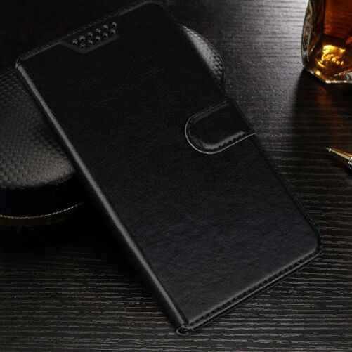 Lật Pu Leather wallet trường hợp Đối Với DEXP Ixion G150 BS150 B350 B160 B145 B140 AS160 Bảo Vệ Trường Hợp Bìa