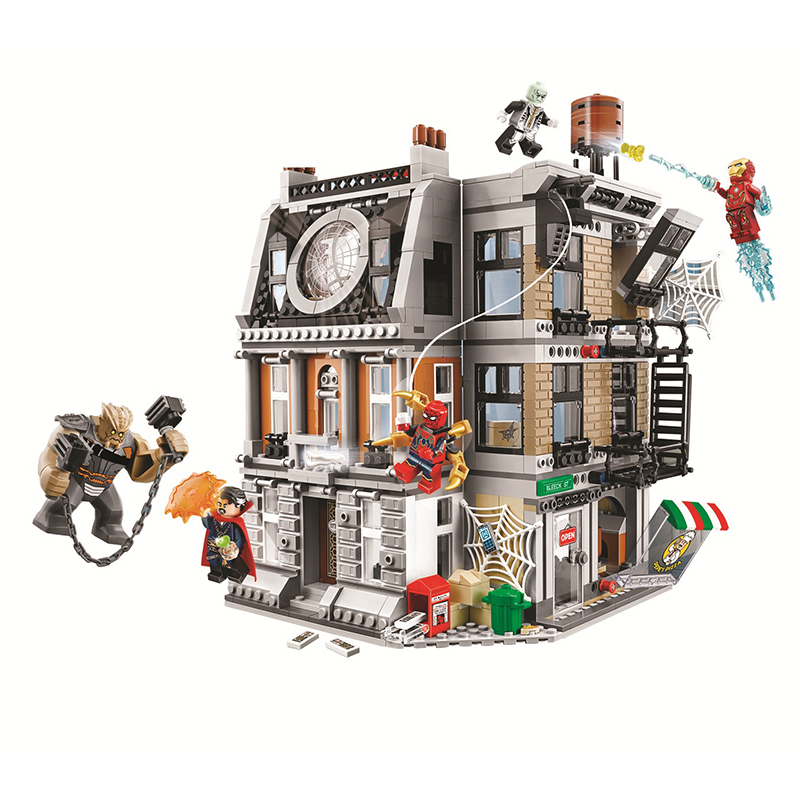 Bela Marvel 76108 Sanctum Sanctorum Showdown Avengers Infinity War Super Hero Building Blocks Bricks 2018 Compatible Legoe sanctum