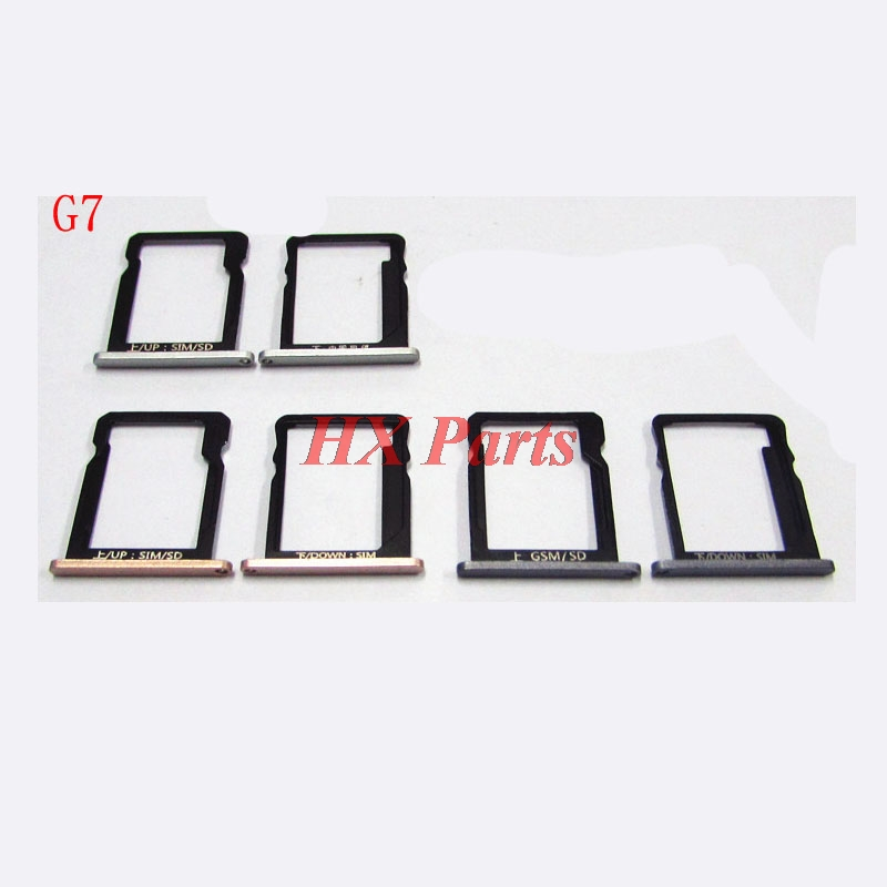 US $4 0 |For Huawei Ascend G7 Sim + SD Card Tray Sim Slot Holder Sim  Adaptor Replacement For Huawei G7 Cell Phone Parts-in Mobile Phone Housings  &