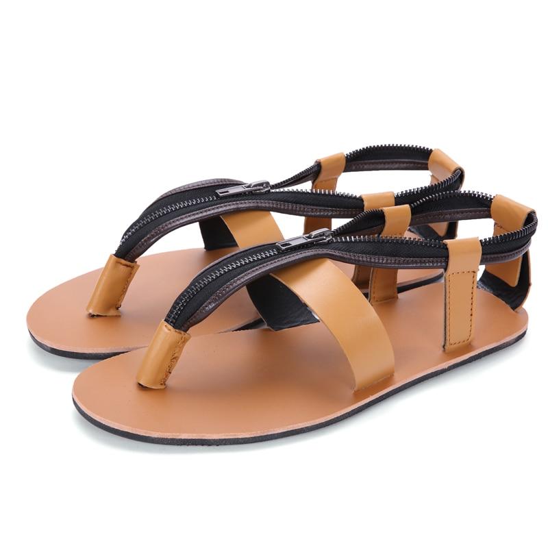 Chaussures Sandales d27 Plage Flip White D27 Respirant Gladiateur D'été Hombre Black 2017 d27 Sandalias Brown Hommes Flops wqWTOXATB
