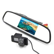 4.3 Дюймов Сзади Автомобиля Парковка Монитор с Специальный Автомобиль Камера Заднего вида для Ssangyong Rexton/Kyron