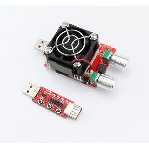 Image 5 - 35 W constante dubbele verstelbare elektronische belasting + QC2.0/3.0 triggers quick voltage usb tester voltmeter aging ontlading