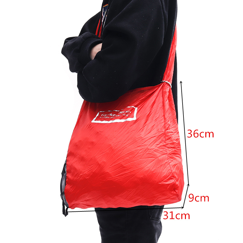 AEQUEEN New Design Recycle Shopping Bag Shopper Bag Multifunctional Fold Grocery Bag Large Capacity Reusable Supermarket Bags 17