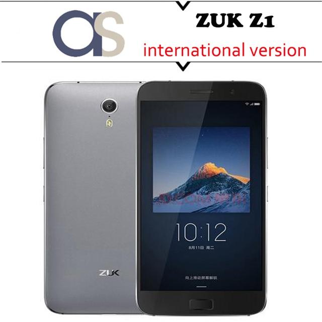Original Lenovo ZUK Z1 4G Cell phone Cyanogen OS Quad Core 2.5GHz 5.5'' 1920x1080P 64G ROM 3GB RAM 13.0MP international version