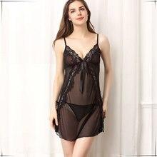 2016 new arrival 2 pcs women pajamas Lounge robe sets transparent chiffon solid Robe Women's Clothing Nightgown Sleepwear 1840