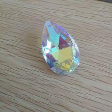 50 мм пластина AB 10 шт. свободная люстра кристалл Pendan украшение для аксессуаров-для-штор