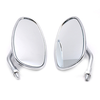 Chrome Motorcycle Side Mirrors For HONDA NRX1800 VTX1300 VTX1800