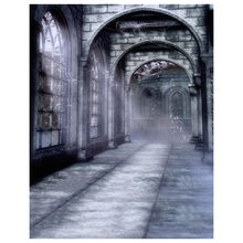 halloween mysterious scene gothic domed architecture arch door photography backdrops picture backgrounds wall mural colour nam - Halloween Wall Mural