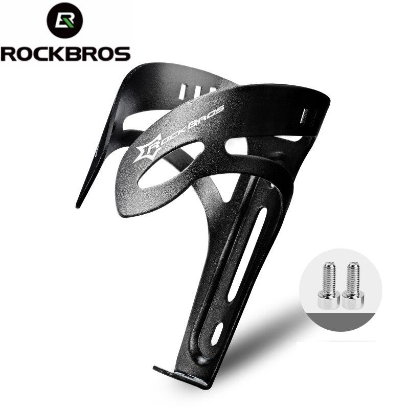ROCKBROS Bike Adjustable Water Bottle Cage Aluminium Alloy Bicycle Bottle Holder