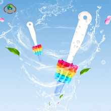 hot deal buy msjo baby bottle brushes food grade silicone cleaning kids milk feed removable antibacterial silicone brushes 2018