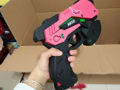 Costumes & Accessories D.va Gun And Headset For Cosplay Pvc Pink D Va Gun Dva Headset Dva Earphone For Exhibition