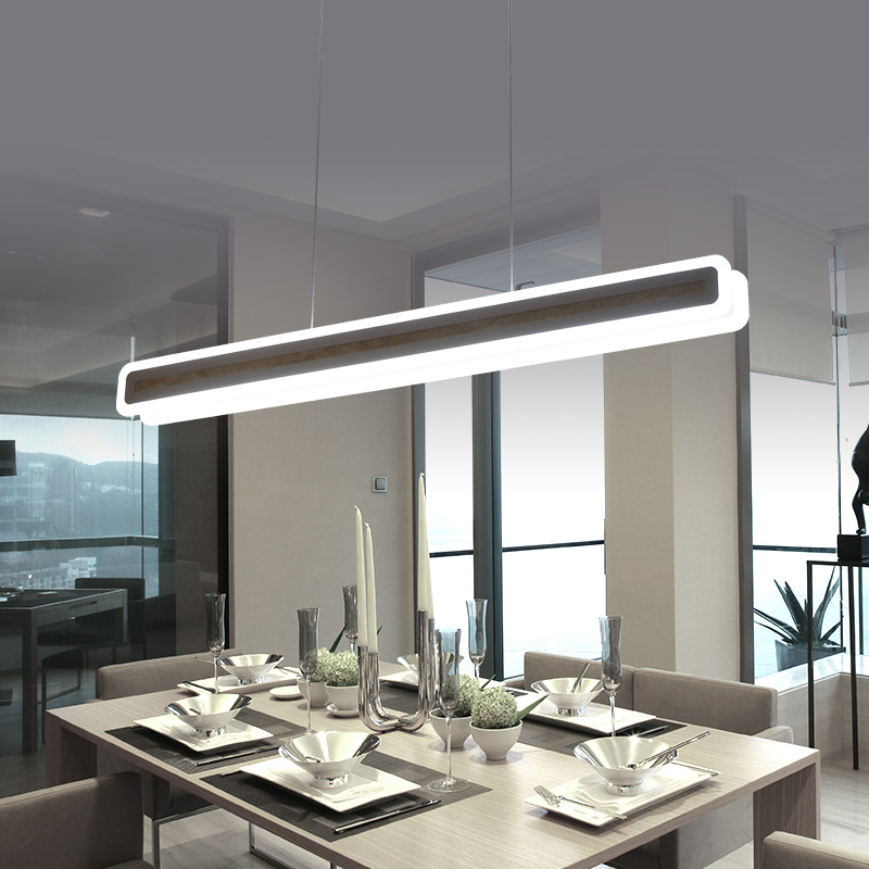Bílá minimalismus moderní led přívěsek světla jídelna hanglamp kancelář visí světla nordic přívěsek lampa svítidla