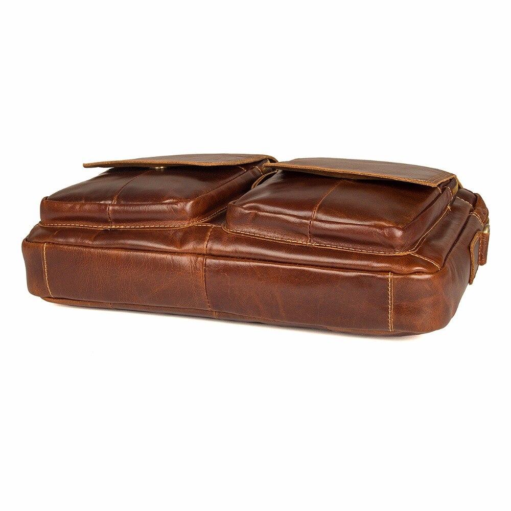 Messager Main Jmd 7378c 7378b Véritable Et De Fashional brown Coffee Croix À Voyage Vache Cuir Sac En Durable Vintage Corps rOqwr8