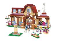 New Friends Series Heartlake Riding Club Model Building Blocks Compatible With 41126 Lepin Toys Bricks Best