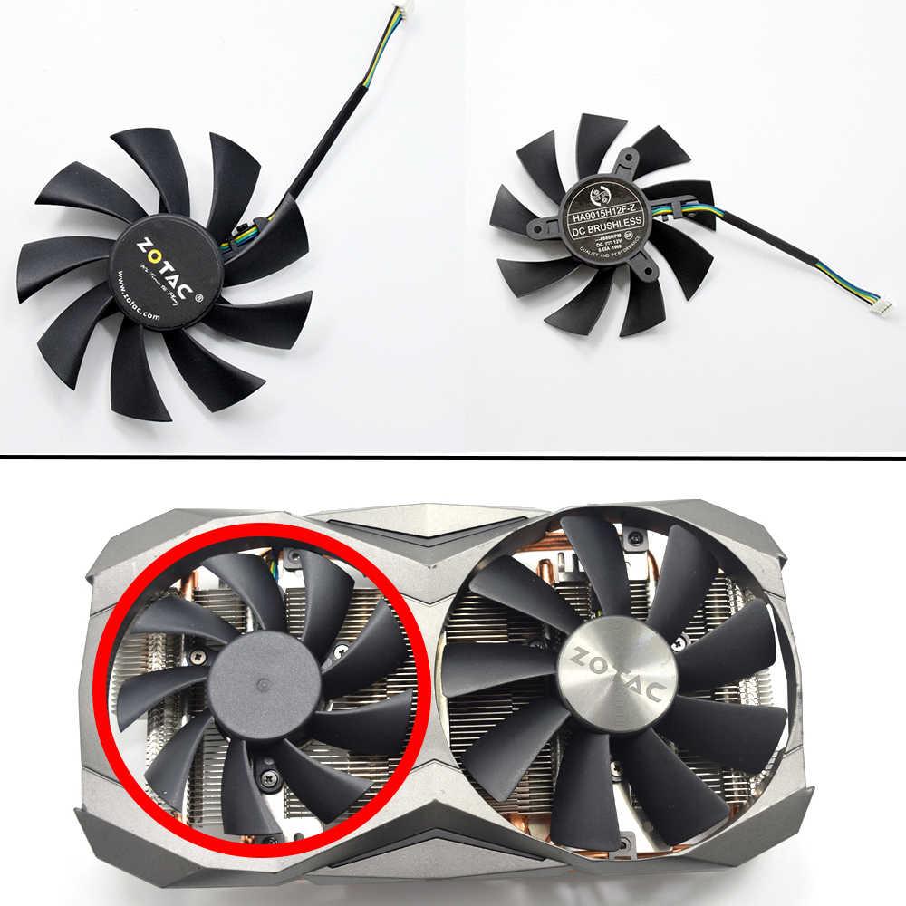 Ventilador de refrigeración de 85mm, reemplazo para ZOTAC GTX 1060 1070TI 1080Ti MINI AMP, ventilador de enfriamiento de la tarjeta gráfica DIY