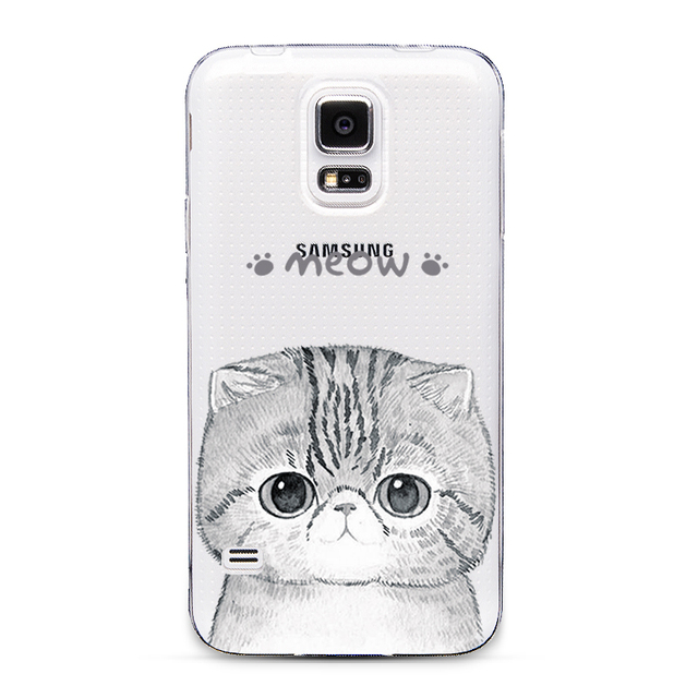 Ultra Thin Transparent Cover For Samsung