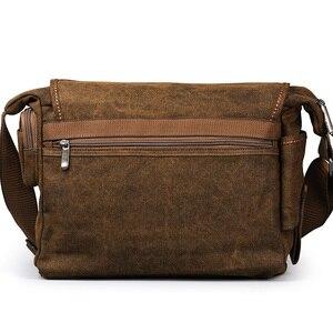 Image 4 - Ruil Bolso de lona multifunción para hombre, bandolera Retro, bolsas de viaje, bolsa de mensajero de hombro, paquete de ocio, novedad de 2018