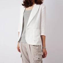 Fashion White 2017 New Women Spring Causal Blazer Women Korean Causl Slime Blazer V-neck Long Sleeve Blazer Free Shipping